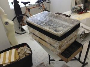 Crate coldframe.