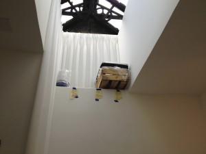Skylight coldframe.